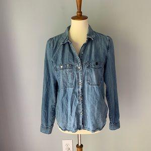 Madewell Chambray Button Down Shirt